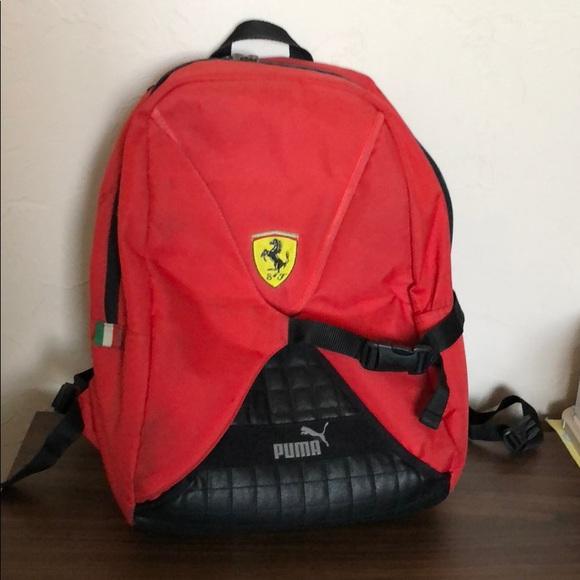 Puma Ferrari Backpack. M 5b7c83a8f41452d690124bcf a1bc2c460